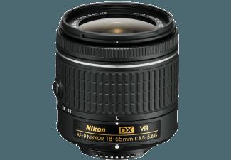 Produktbild NIKON AF-P DX VR 18 mm-55 mm Objektiv f/3.5-5.6  System: NIKKOR  Bildstabilisator