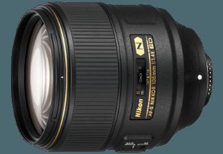Produktbild NIKON AF-S NIKKOR 105 MM 1:1.4E ED 105 mm Objektiv f/1.4  System: Nikon
