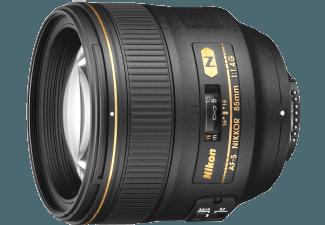 Produktbild NIKON AF-S NIKKOR 85mm 1:1 4G 85 mm Objektiv f/1.4  System: Nikon AF