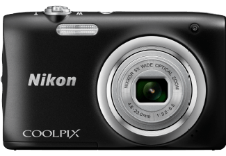 Produktbild NIKON COOLPIX A100 Digitalkamera  20.1 Megapixel  5x opt. Zoom  CCD-Sensor Sensor  26-130 mm