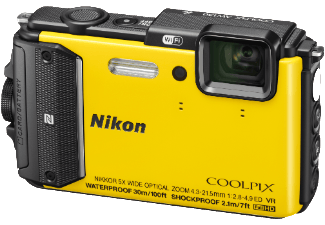 Produktbild NIKON COOLPIX AW130 Outdoor Kit Kompaktkamera  16 Megapixel  5x opt. Zoom  CMOS Sensor  WLAN