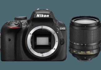 Produktbild NIKON D3400 digitale Spiegelreflexkamera  24.72 Megapixel  CMOS Sensor  18-105 mm Objektiv (AF-S