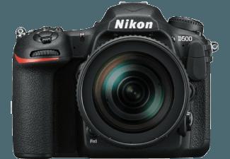 Produktbild NIKON D500 Spiegelreflexkamera  20.9 Megapixel  4K  Full HD  HD  CMOS Sensor  Externer Blitzschuh