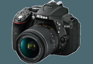 Produktbild NIKON D5300 Spiegelreflexkamera  24.2 Megapixel  CMOS Sensor  Externer Blitzschuh  18-55 mm