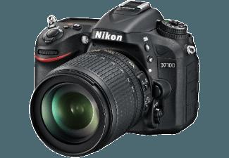 Produktbild NIKON D7100 Spiegelreflexkamera  24.1 Megapixel  5.8x opt. Zoom  CMOS Sensor  18-105 mm Objektiv