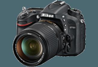 Produktbild NIKON D7100 Spiegelreflexkamera  24.1 Megapixel  CMOS Sensor  18-140 mm Objektiv (VR  DX  AF-S)