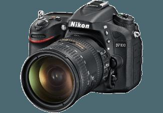 Produktbild NIKON D7100 Spiegelreflexkamera  24.1 Megapixel  CMOS Sensor  18-200 mm Objektiv  Autofokus