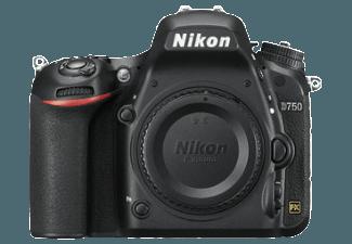 Produktbild NIKON D750 Gehäuse Spiegelreflexkamera  24.3 Megapixel  CMOS Sensor  WLAN  Autofokus