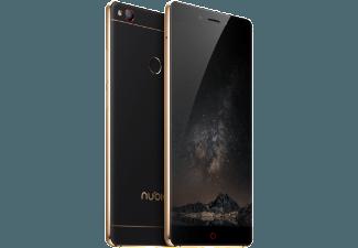 Produktbild NUBIA Z11  Smartphone  64 GB  5.5 Zoll  Schwarz/Gold