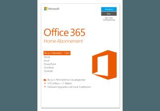 Produktbild Office 365 Home Abonnement