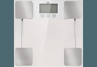 Produktbild OK. OPS 200  Personenwaage  Silber/Glas