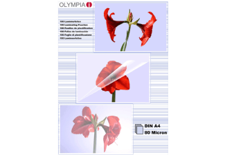 Produktbild OLYMPIA 9166 A4  Laminierfolie