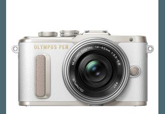 Produktbild OLYMPUS PEN E-PL8 Systemkamera  16.1 Megapixel  3x opt. Zoom  Live MOS Sensor  Externer Blitzschuh
