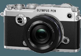 Produktbild OLYMPUS PEN-F Systemkamera  20.3 Megapixel  Full HD  Live MOS Sensor  Externer Blitzschuh  WLAN