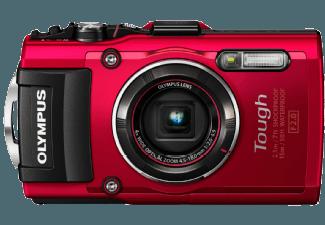 Produktbild OLYMPUS TG 4 Digitalkamera  16 Megapixel  4x opt. Zoom  CMOS Sensor  WLAN  25-100 mm Brennweite