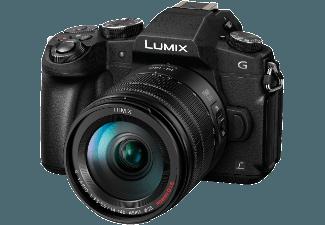 Produktbild PANASONIC DMC-G 81 HEG-K Systemkamera  16 Megapixel  4K  Full HD  Live-MOS Sensor  Externer