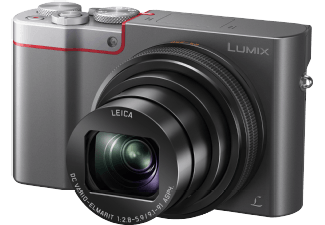 Produktbild PANASONIC DMC-TZ101 Digitalkamera  20.1 Megapixel  10x opt. Zoom  MOS Sensor  25-250 mm Brennweite
