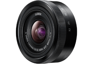 Produktbild PANASONIC H-FS 12032E-K 12 mm-32 mm f/5.6  Standardzoom  System: Micro-Four-Thirds