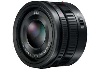 Produktbild PANASONIC H-X 015 E-K 15 mm-15 mm f/1.7  Festbrennweite  System: Micro-Four-Thirds