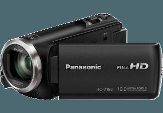 Produktbild PANASONIC HC-V180  Camcorder  BSI MOS Sensor  Panasonic  50x opt. Zoom  Bildstabilisator