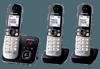 Produktbild PANASONIC KX-TG 6823 GB  Schnurloses Telefon  Schwarz