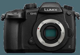 Produktbild PANASONIC Lumix DMC-GH5 Geh�use Systemkamera  18 Megapixel  4K  Live-MOS Sensor  Externer