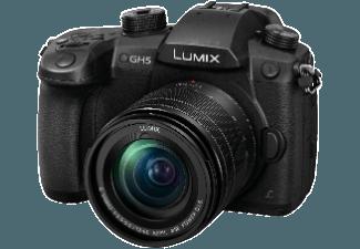 Produktbild PANASONIC Lumix DMC-GH5 Systemkamera  18 Megapixel  4K  Live-MOS Sensor  Externer Blitzschuh  12-60