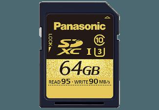 Produktbild PANASONIC RP-SDUD64GAK SD Speicherkarte  64 GB  95 MB/s  UHS Class 3
