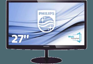 Produktbild PHILIPS 277E6LDAD/00  Monitor mit 68.6 cm / 27 Zoll Full-HD Display  1 ms Reaktionszeit