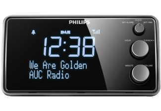 Produktbild PHILIPS AJB3552  Wecker  Schwarz