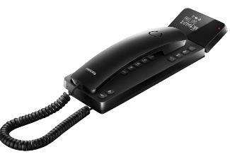 Produktbild PHILIPS M110B/39  Telefon  Schwarz