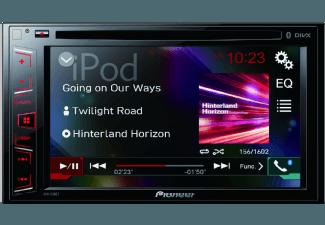 Produktbild PIONEER AVH-290BT  Autoradio  2 DIN (Doppel-DIN)  Ausgangsleistung/Kanal: 50