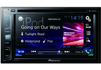 Produktbild PIONEER AVH-X3900BT  Autoradio  2 DIN (Doppel-DIN)  Ausgangsleistung/Kanal: 50