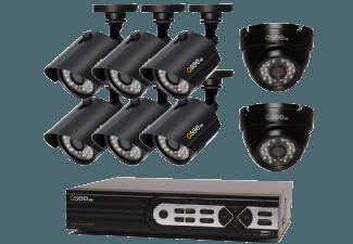Produktbild Q-SEE QTH16-8AK-2  IP Kamera  Schwarz