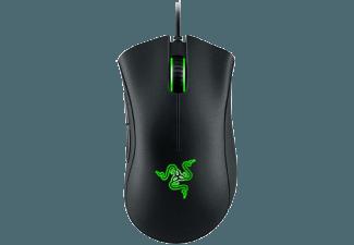 Produktbild RAZER DeathAdder Chroma  Gaming-Maus  schwarz mit multi-color