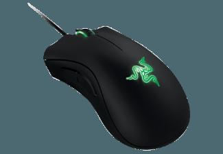 Produktbild RAZER DeathAdder Gaming-Maus  Maus  kabelgebunden  Schwarz mit grüner