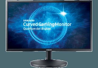 Produktbild SAMSUNG C24FG70  Monitor mit 59.8 cm / 23.5 Zoll Full-HD Display  1 ms Reaktionszeit  Anschlüsse: