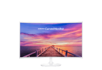 Produktbild SAMSUNG LC32F391FWUX/EN  Monitor mit 80.1 cm / 32 Zoll Full-HD Display  4 ms Reaktionszeit