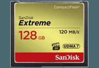 Produktbild SANDISK Extreme Compact Flash Speicherkarte  128 GB  120