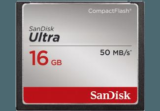 Produktbild SANDISK Ultra Compact Flash Speicherkarte  16 GB  50