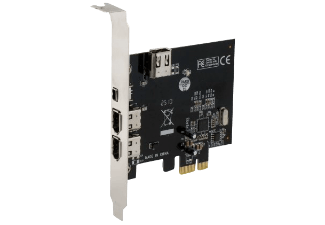 Produktbild SEDNA Firewire PCI-E Karte  Interne PCI-E Firewire