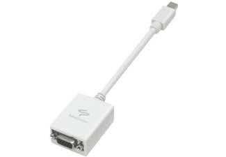 Produktbild SENDSTATION Adapter: MiniDisplayPort auf VGA  Mini DisplayPort auf