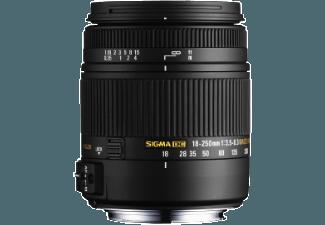 Produktbild SIGMA 18-250mm F3 5-6 3 DC OS Makro HSM Nikon 18 mm-250 mm Objektiv f/3.5-6.3  System: Nikon AF