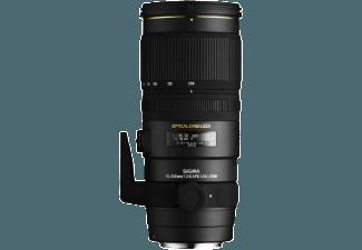 Produktbild SIGMA 70-200mm F2 8 EX DG OS HSM 70 mm-200 mm Objektiv f/2.8  System: Canon  Bildstabilisator