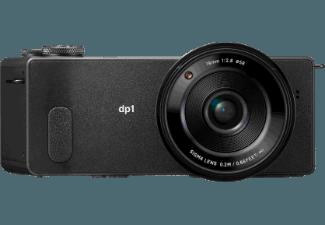 Produktbild SIGMA dp1 Quattro Kompaktkamera  29 Megapixel  FOVEON X3 (CMOS) Sensor  28 mm Brennweite  Autofokus