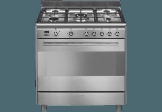 Produktbild SMEG SCD90MFX9  Kombi-Standherd  EEK: A  115 Liter