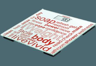 Produktbild SOEHNLE 63765 Jolly  Personenwaage  Rot/Weiß