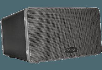 Produktbild SONOS PLAY:3  Smart Speaker für Wireless Music Streaming  Schwarz