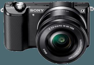 Produktbild SONY Alpha 5000 (ILCE-5000LB) Systemkamera  20.1 Megapixel  Full HD  APS-C Sensor  Externer
