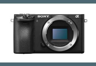 Produktbild SONY Alpha 6500 (ILCE6500B) Systemkamera  24.2 Megapixel  4K  Full HD  APS-C CMOS Sensor  Externer